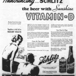 1936 ad for Schlitz beer