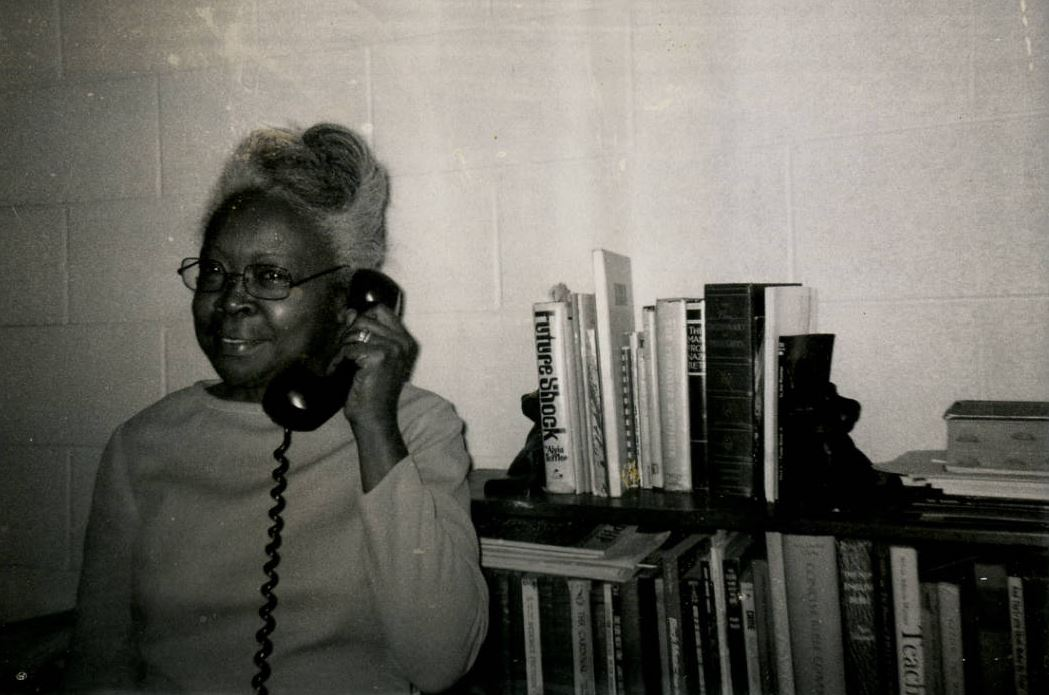 Thelma Caldwell, Executive Director of the Asheville YWCA, 1965