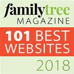 Family Tree Magazine 101 Best Websites 2018