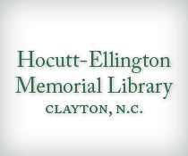 Hocutt-Ellington Memorial Library (Clayton, N.C.)