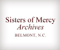 Sisters of Mercy Archives (Belmont, N.C.)