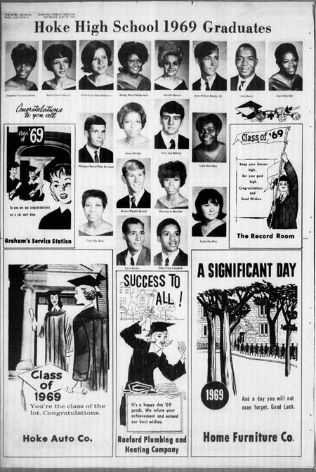 Hoke High Class of 1969