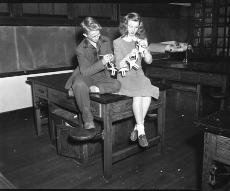 Brevard High School, Most Original Robert Hunter and Carolyn Kizer, 1947