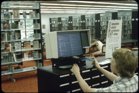 1980s Library Technology at the Rockingham County Public Libraries