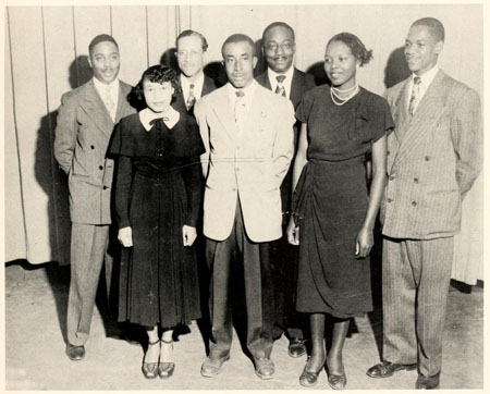 Senior Class Officers, Carver College, 1951.