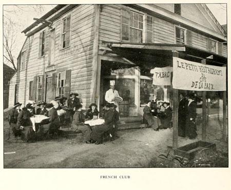 Chowan College French Club, 1915