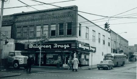 Photograph, 102-104 W Main Street, 107 N Mangum Street