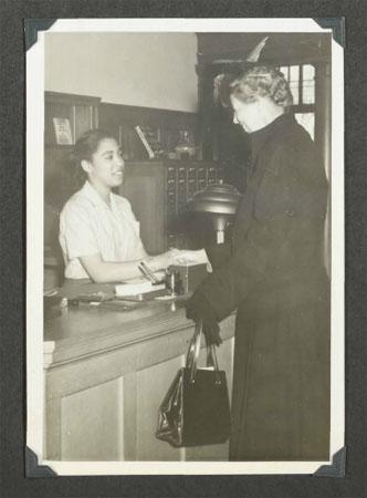 Eleanor Roosevelt Visits Greensboro