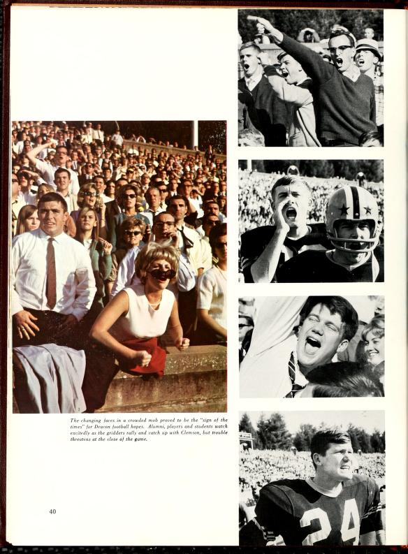 Wake Forest University Yearbooks Now on DigitalNC
