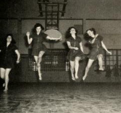 Modern Dance at Guilford College, 1942