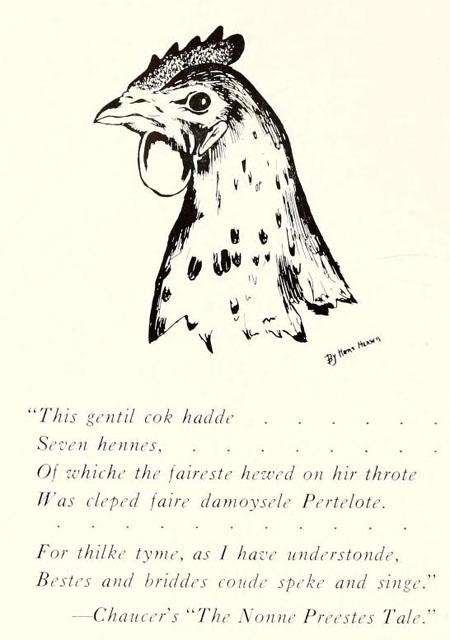 The Pertelote, 1938