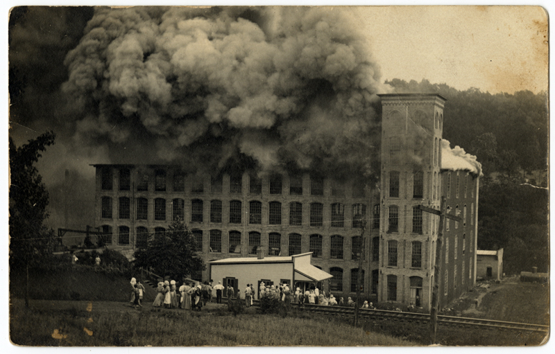 The Avalon Mill Fire