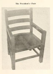 President's Chair, from 1967 Golden Bull