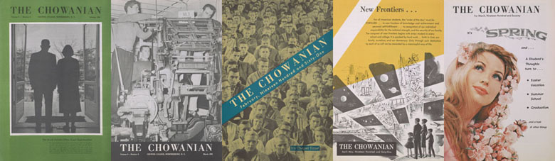 Front covers of The Chowanian