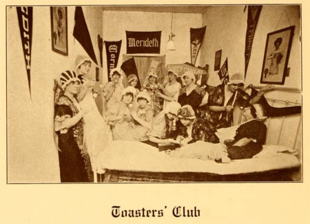 Toasters' Club, Chowan College, 1916