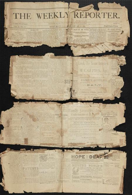 Rocky Mount Weekly Reporter, 1884