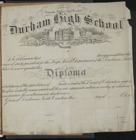 Durham County Scrapbook - Clinton Toms