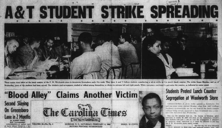 The Carolina Times (Durham, N.C.), February 6, 1960