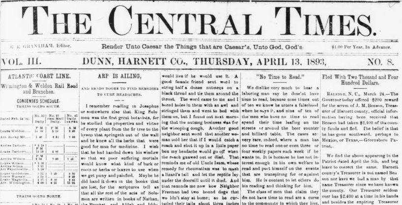 CentralTimesfrontpage