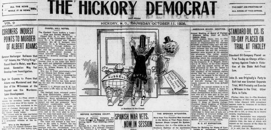 HickoryDemocratfrontpage
