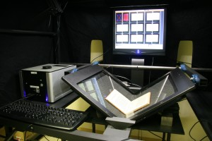 Provides high-speed, high-quality mass digitization techniques for bound materials. The scanners can produce approximately 3,000 digitized pages of original ...