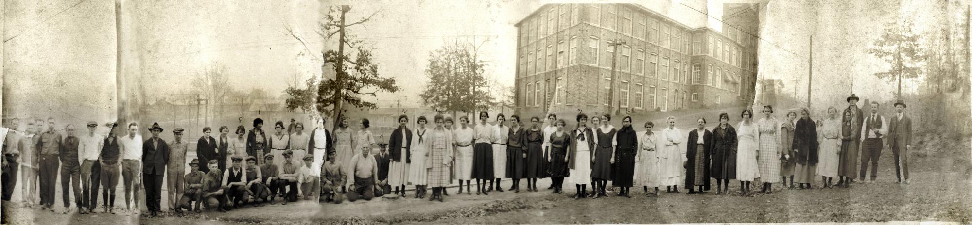 Lillian Mill Panoramic Photograph