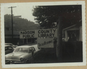 Entrance to the Madison County Public Library