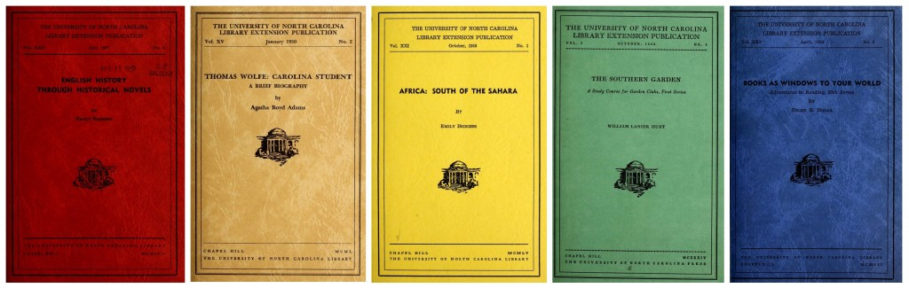 Assorted UNC Library Extension Publications