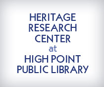 Heritage Research Center at High Point Public Library