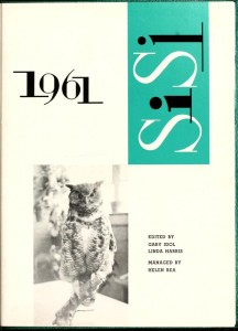 Si Si Yearbook, 1961