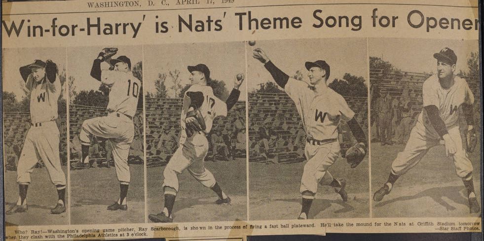 Baseball scrapbooks from Wayne County now online