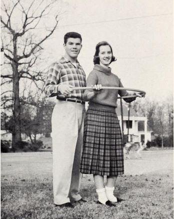 Best All-Around in the 1959 Jamestown High senior class