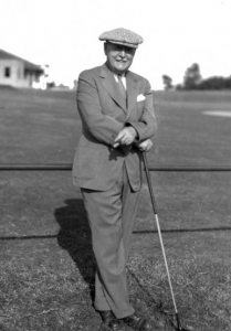 Donald Ross in Pinehurst, 1935