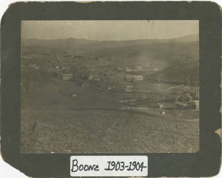 Photographs from Historic Boone now available on DigitalNC