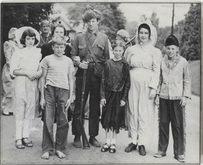 Watauga County Centennial: Daniel Boone