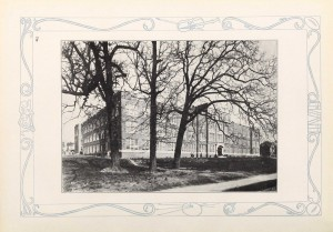Hugh Morson High School building, 1928.
