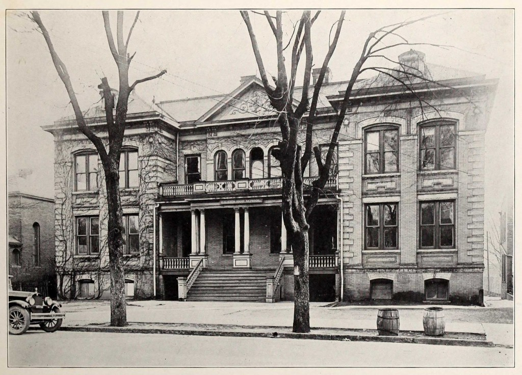 Raleigh High School, 1923.
