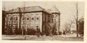 Wakelon High School, side view, 1948.