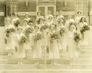 Rex Hospital School of Nursing Graduating Class, 1937