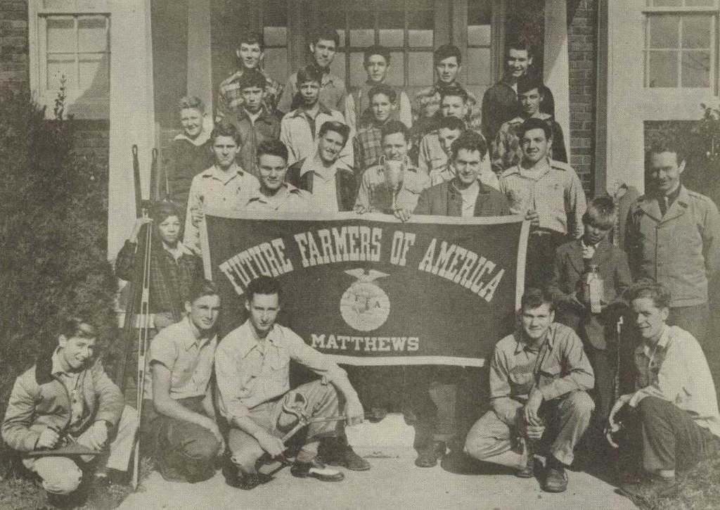 Future Farmers of America, Matthews High, 1947