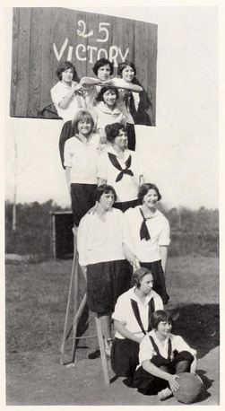 1925 Selma High School girls basketball team