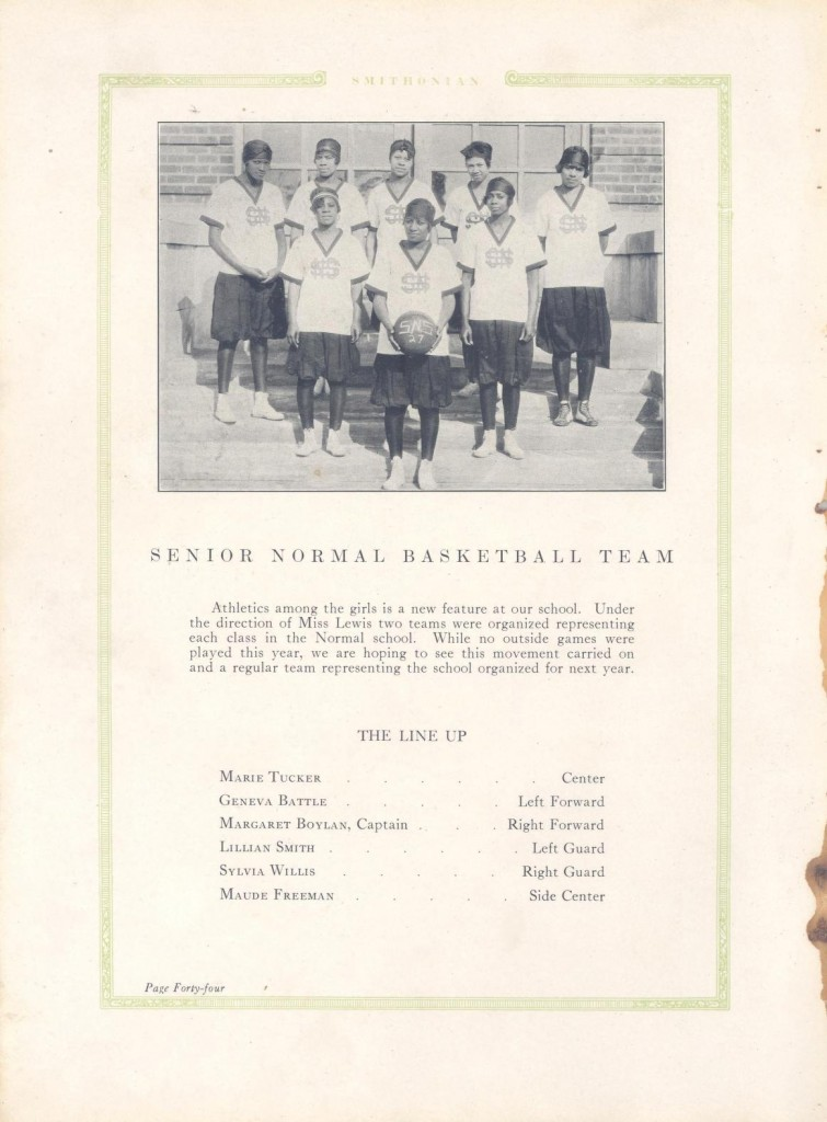 FSU Basketball team, 1927