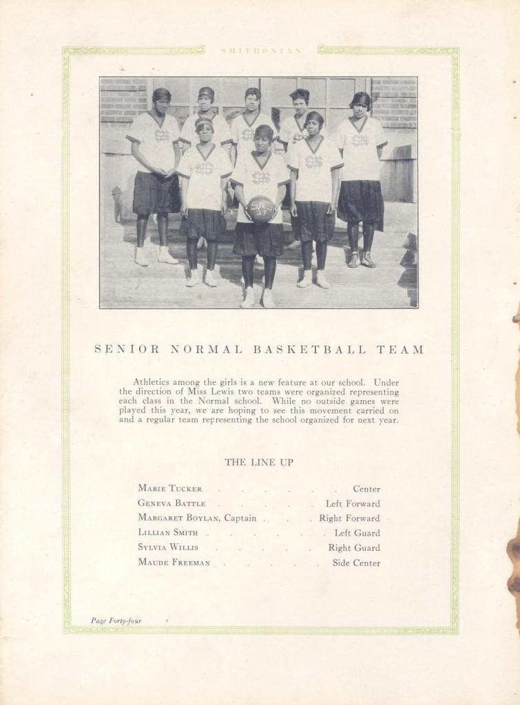 FSU Basketball team, 1927