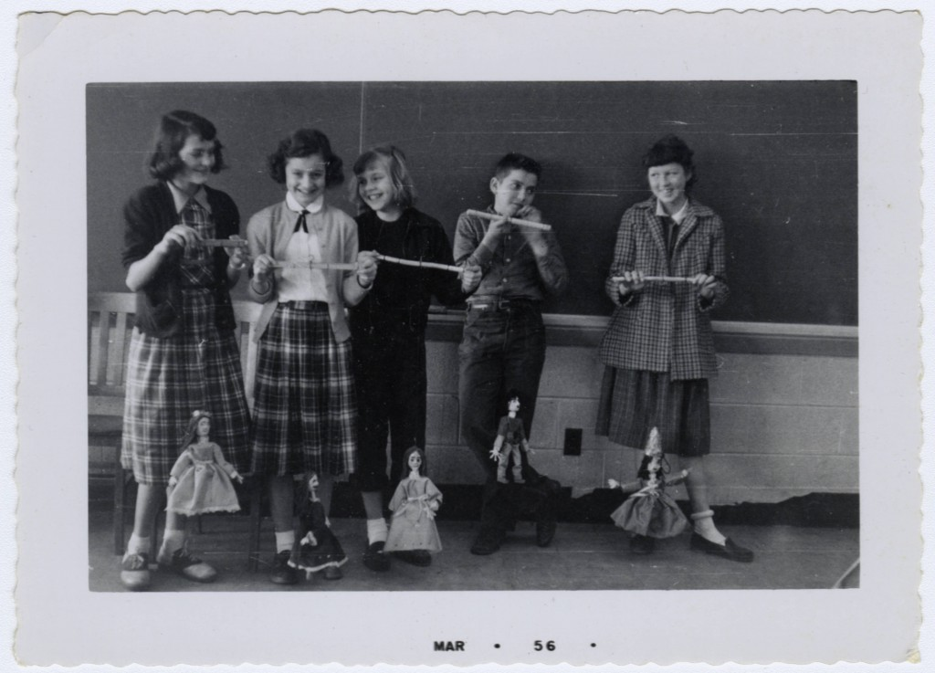 Helen Poole's Class Activities, Troy Elementary School (1950s)