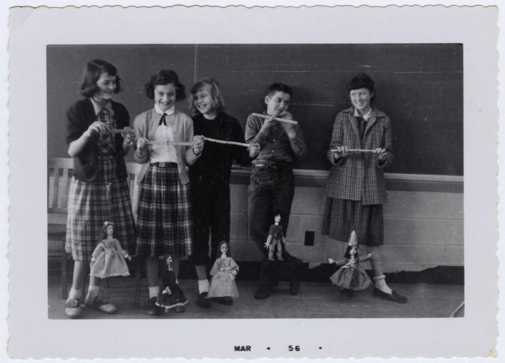 Helen Poole's Class Activities, Troy Elementary School (1950s)