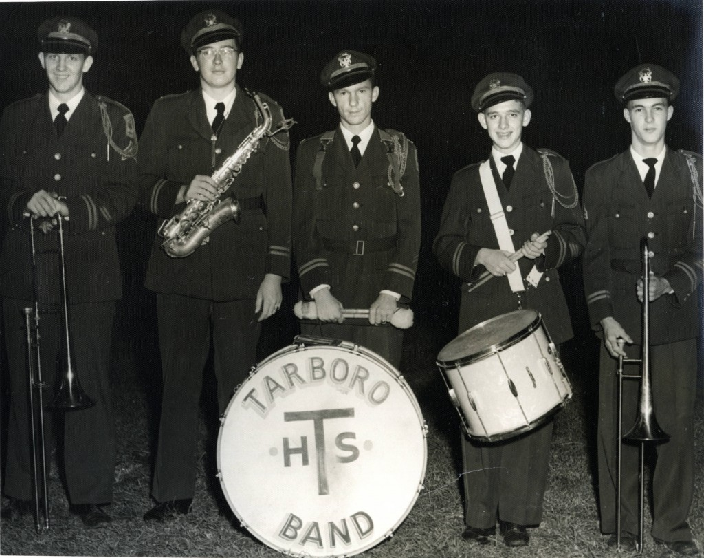 Five members of the Tarboro High School Band