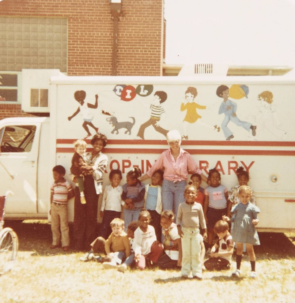 Rockingham County Drop in Library Scrapbook photo, 1977-1978