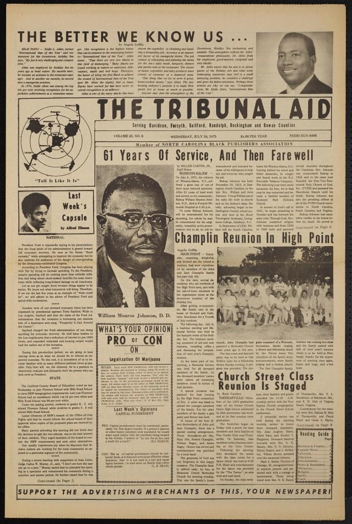 The Tribunal Aid, July 16, 1975