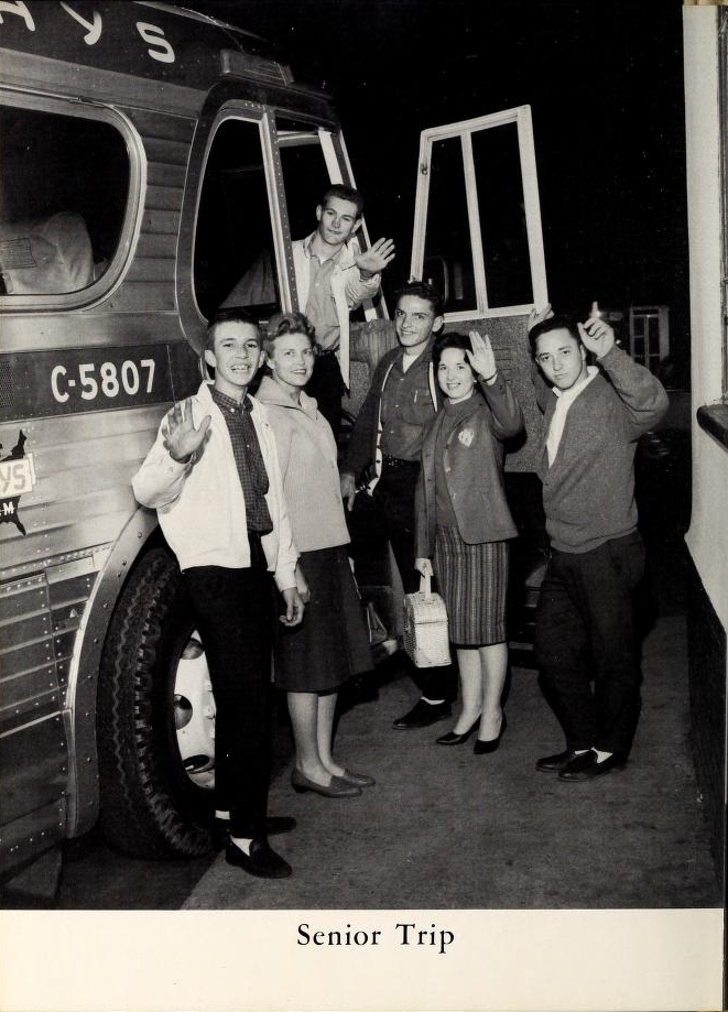 Senior Trip, from the 1962 Glen-Cedo