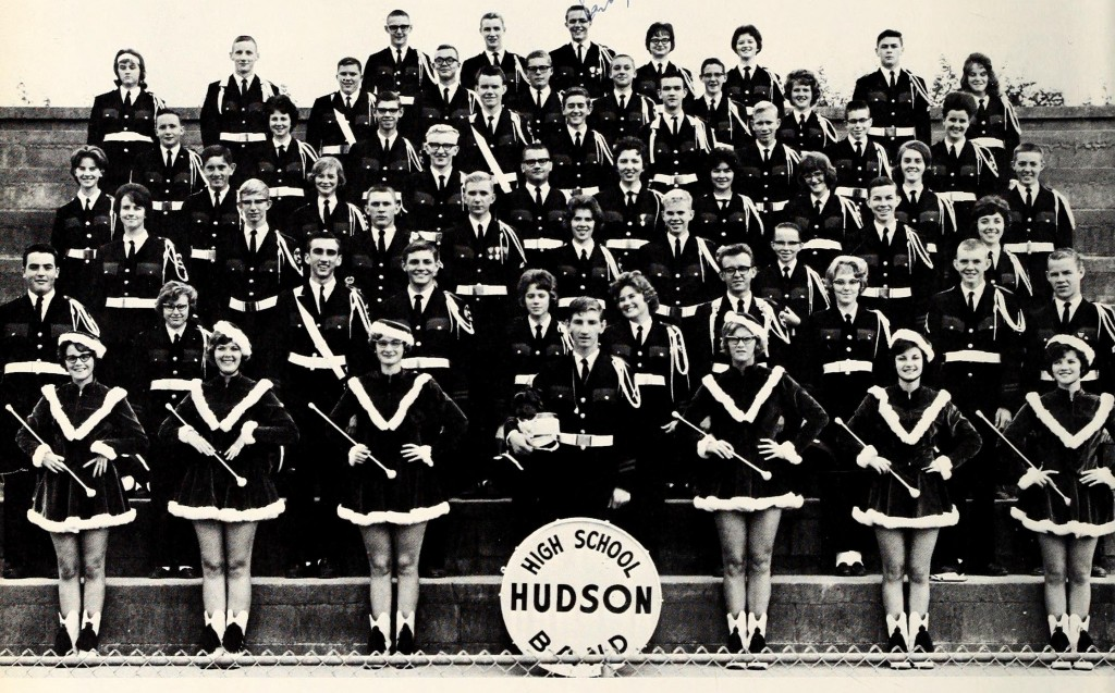 The 1964 Hudson High School Band.